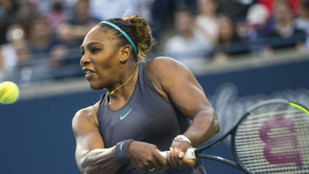 Williams mussste im Finale von Toronto verletzt aufgeben - Bildquelle: PIXATHLONPIXATHLONSID