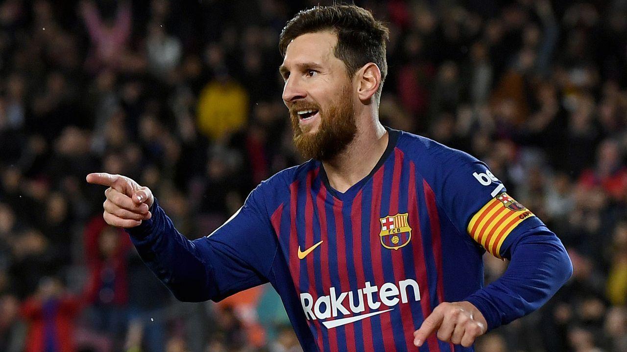 Platz 1 - Lionel Messi - Bildquelle: 2019 Getty Images