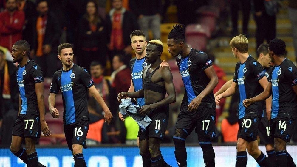 Der FC Brügge lässt gegen Galatasaray Punkte liegen - Bildquelle: AFPSIDOZAN KOSE