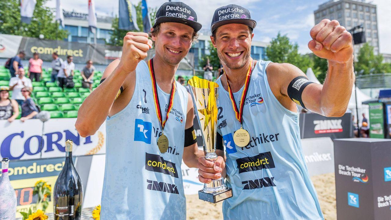 Jonas Schröder und Paul Becker - Bildquelle: imago/Beautiful Sports