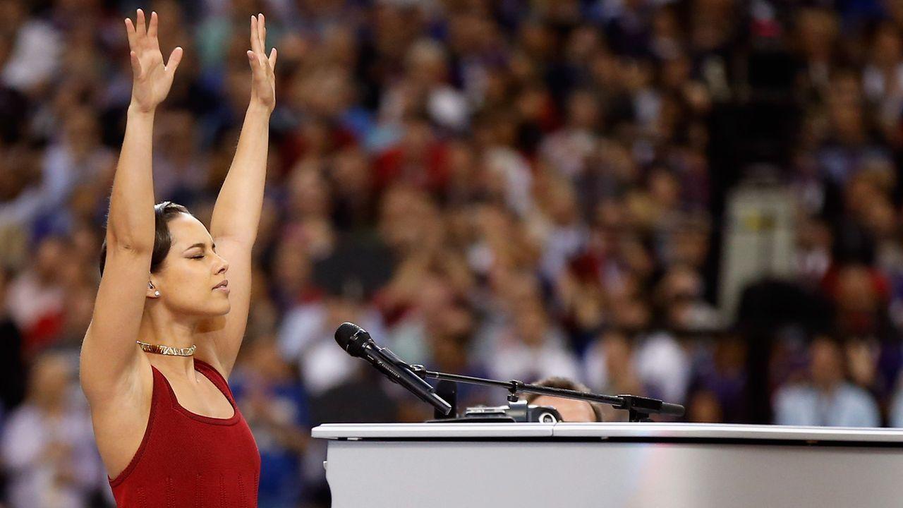 Die Hymnen-Wette - Bildquelle: Getty Images