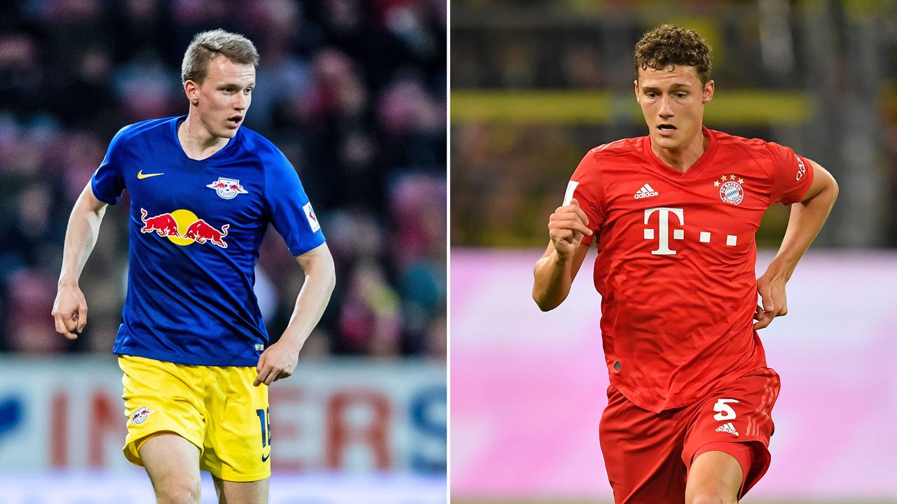 Lukas Klostermann vs. Benjamin Pavard - Bildquelle: 2019 Getty images