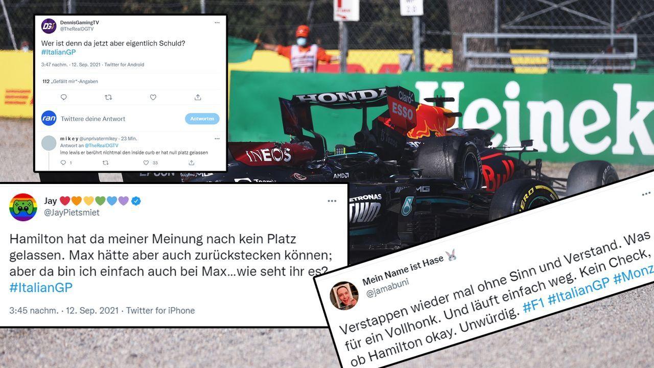 Hamilton vs Verstappen - Bildquelle: 2021 Getty Images