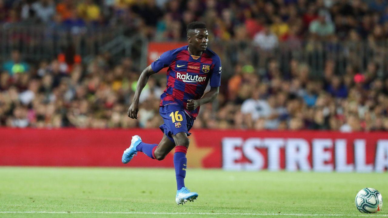 Moussa Wague (FC Barcelona) - Bildquelle: imago