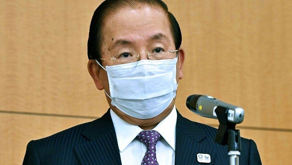 Olympia: Veranstalter um Toshiro Muto stellen Regeln vor - Bildquelle: AFPSIDJAPAN POOL VIA JIJI PRESS