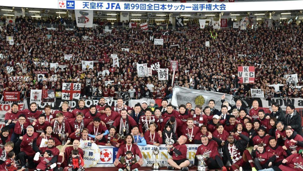 Vissel Kobe fährt den ersten Titel der neuen Saison ein - Bildquelle: AFPSIDKAZUHIRO NOGI