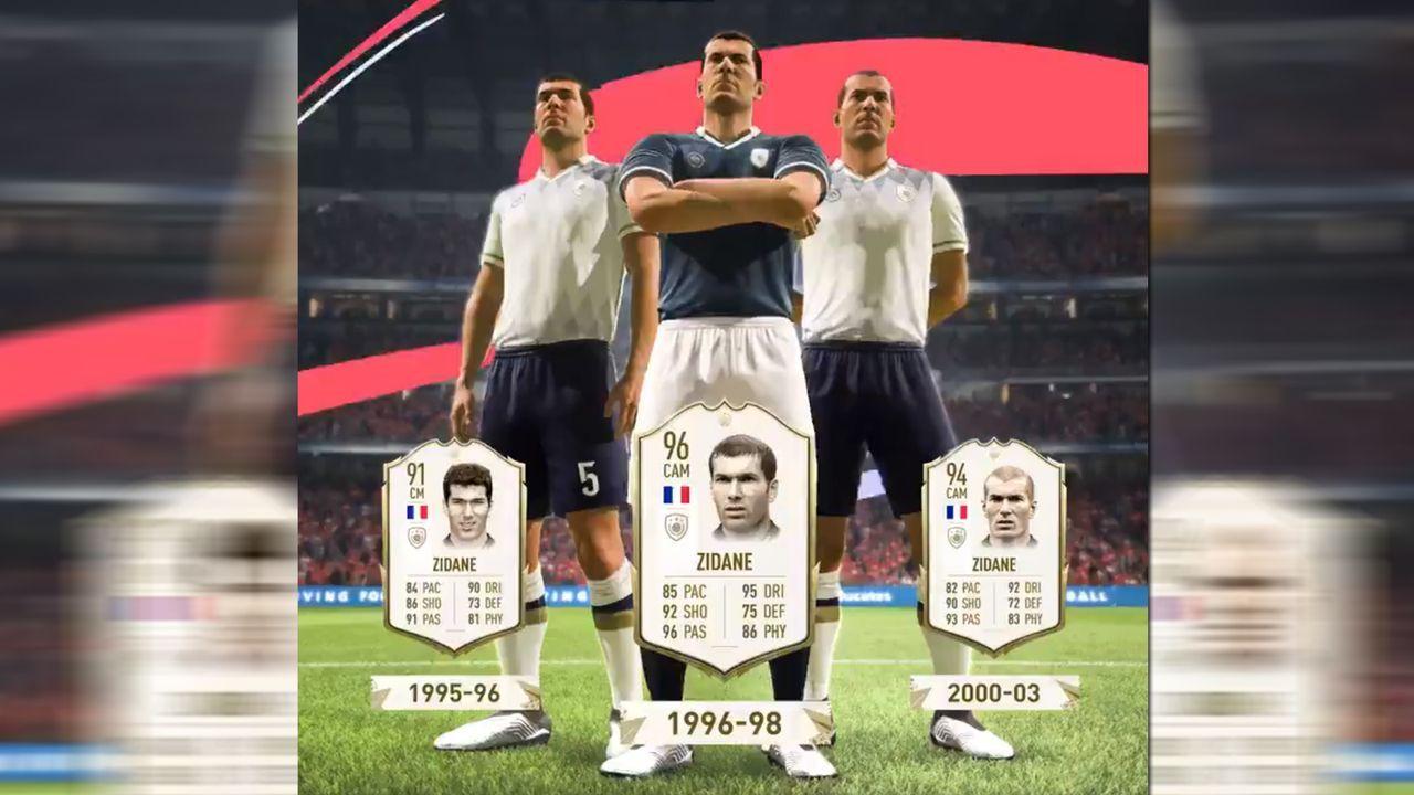 FIFA 20 Icons: Zinedine Zidane - Bildquelle: Twitter/@EAFussball