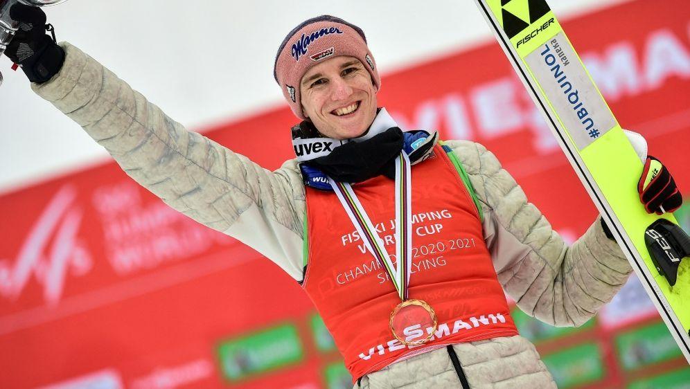 "Geiger ist ""Skisportler des Jahres 2021"" - Bildquelle: AFP/SID/JURE MAKOVEC"