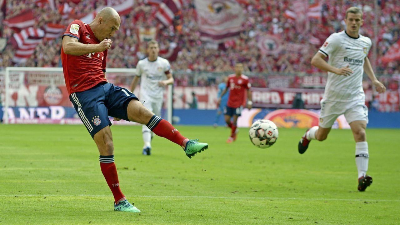 Platz 1 - Arjen Robben - Bildquelle: imago/MIS