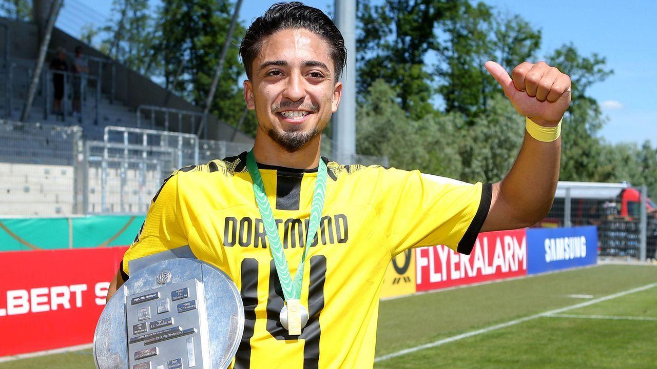 Immanuel Pherai (Borussia Dortmund) - Bildquelle: imago images / DeFodi