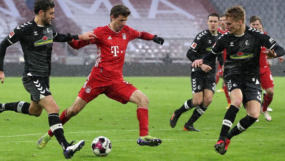Müller erzielte den Siegestreffer der Bayern - Bildquelle: Getty Images