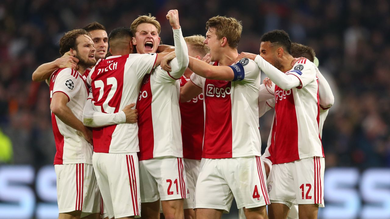 Platz 5: Ajax Amsterdam - Bildquelle: 2019 Getty Images