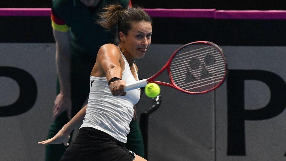 Fed Cup: Tatjana Maria verliert ihr Auftaktspiel - Bildquelle: 2019 imago