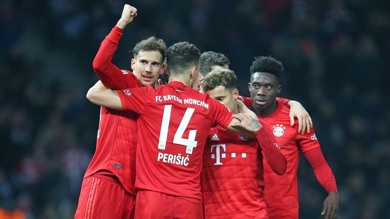Einzelkritik: Der FC Bayern München bei Hertha BSC - Bildquelle: imago