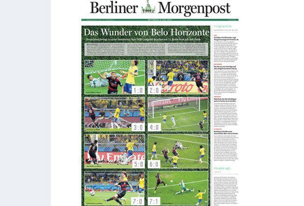 Berliner Morgenpost - Bildquelle: Berliner Morgenpost