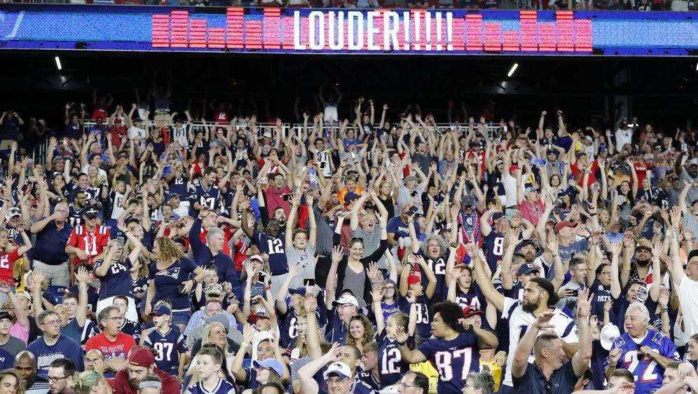 Die Kapazität im Gillette Stadium wird auf rund 13.000 Fans beschränkt. - Bildquelle: imago/Icon SMI