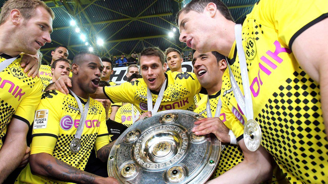 Borussia Dortmund: Double-Sieger 2012 - Bildquelle: imago