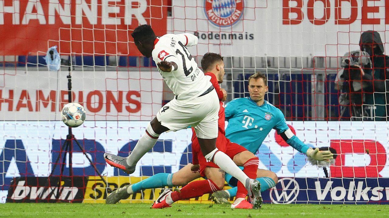 Eintracht Frankfurt: Danny da Costa (66. Minute)