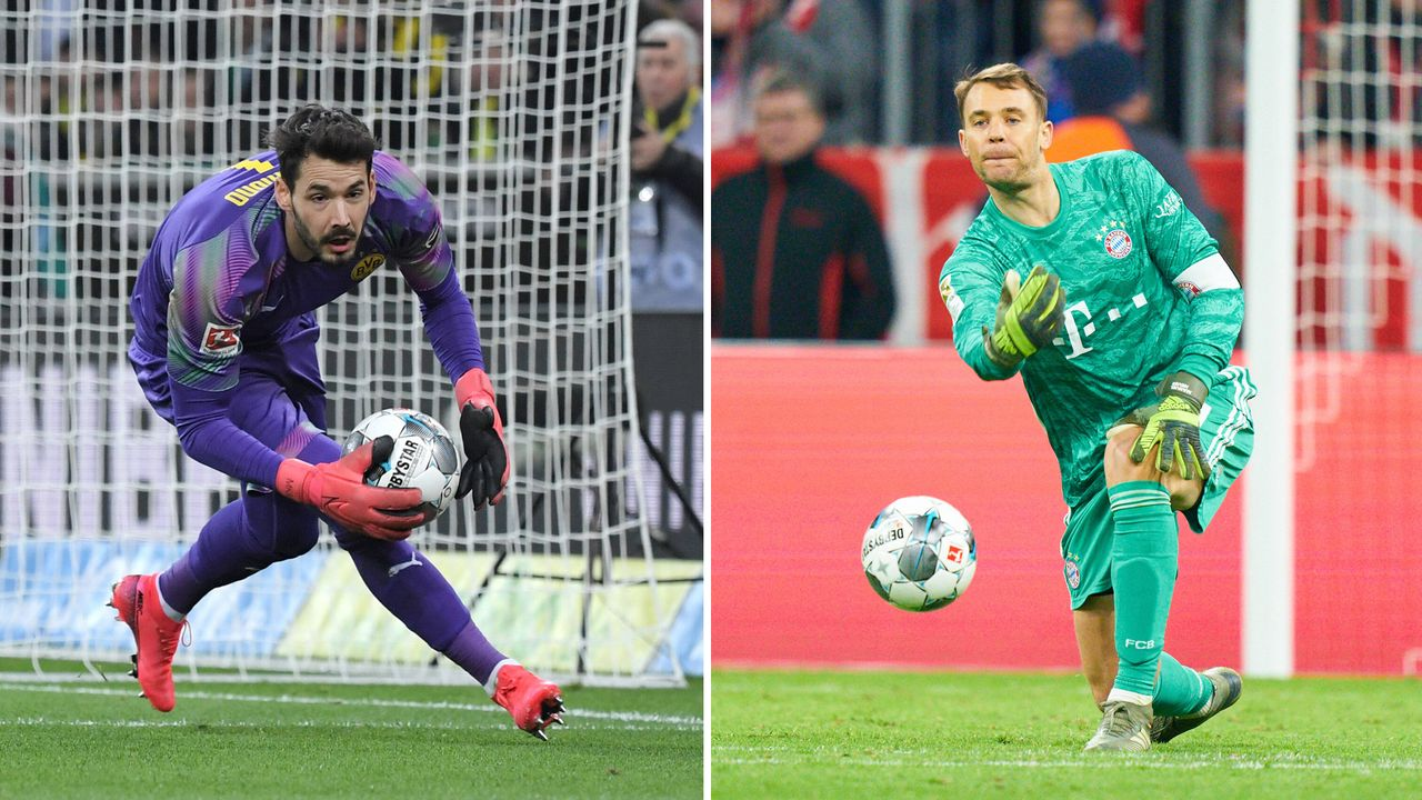 Tor: Roman Bürki vs. Manuel Neuer - Bildquelle: imago images