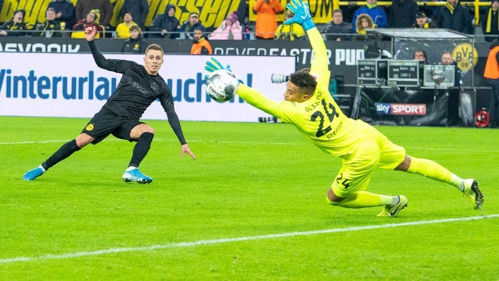 Borussia Dortmund will gegen Fortuna Düsseldorf Revanche für die 1:2-Niederl... - Bildquelle: Imago