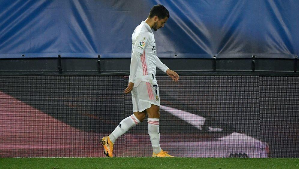 Eden Hazard erneut verletzt - Bildquelle: AFPSIDPIERRE-PHILIPPE MARCOU