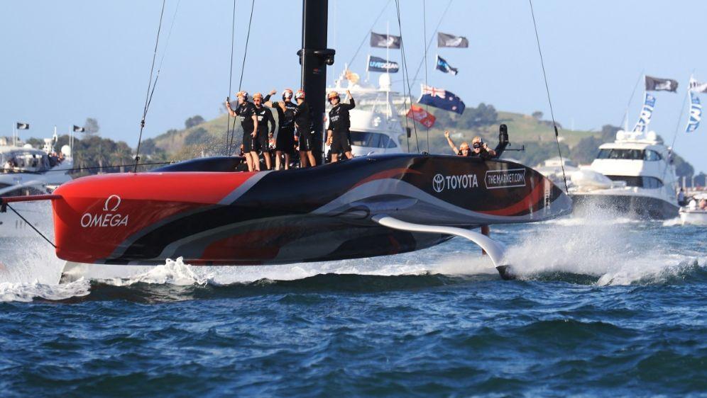 Team New Zealand noch auf der Suche - Bildquelle: AFPSIDGILLES MARTIN-RAGET
