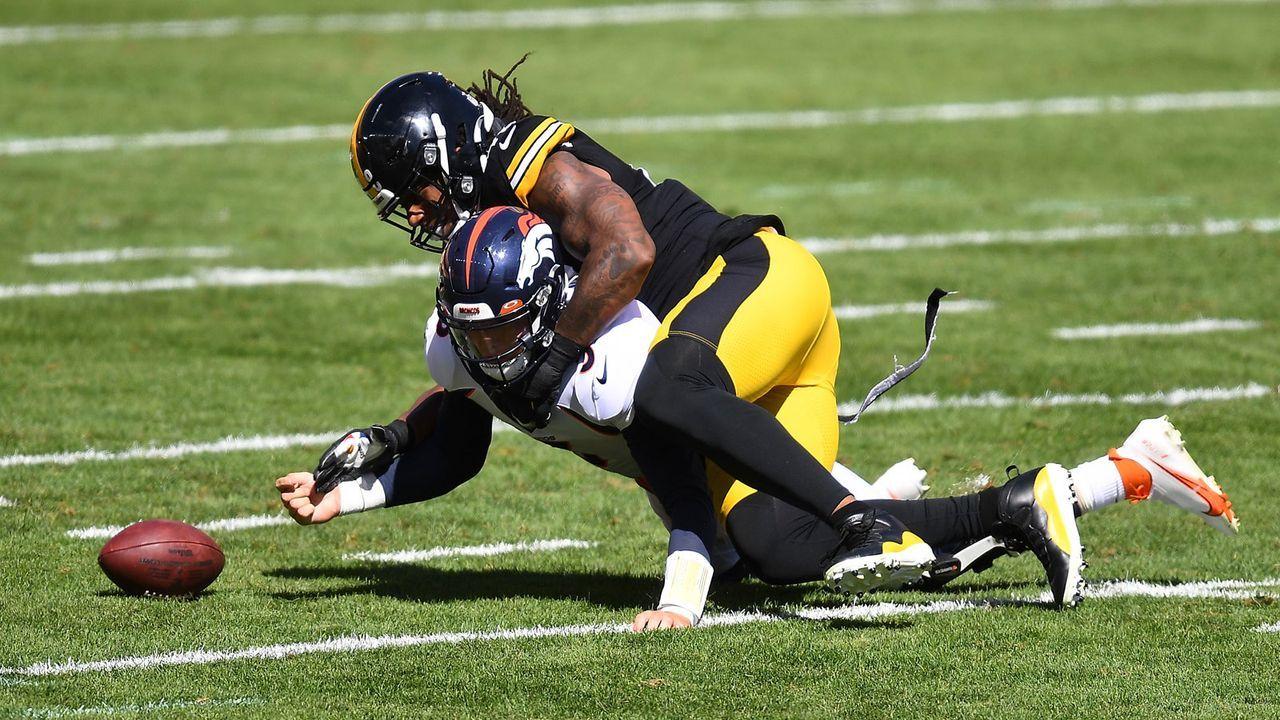 Gute Leistungen: Bud Dupree (Pittsburgh Steelers) - Bildquelle: 2020 Getty Images