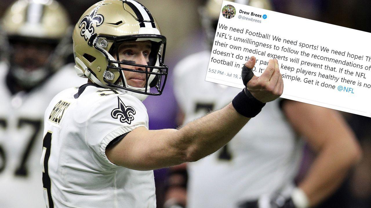 Drew Brees (New Orleans Saints) - Bildquelle: 2020 Getty Images