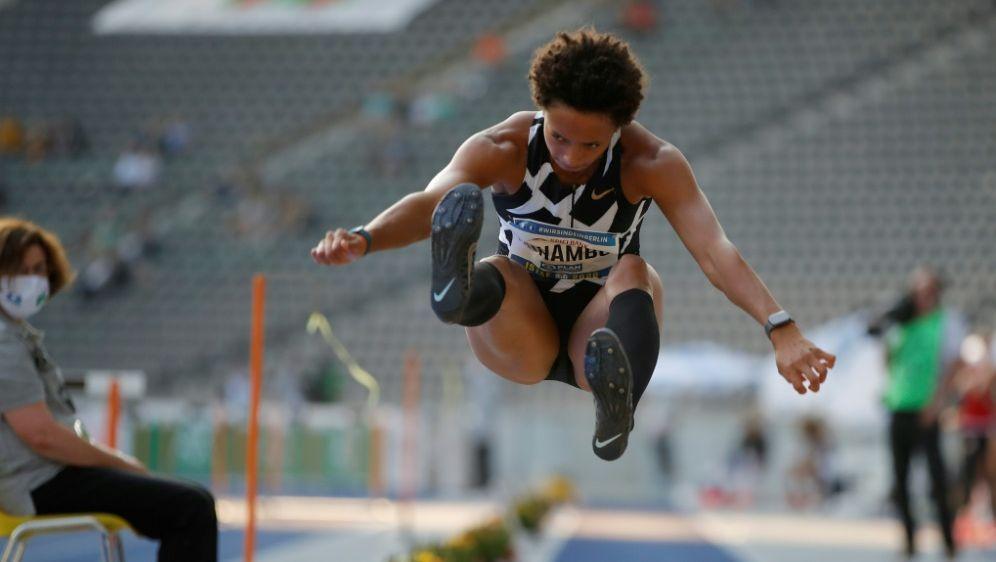 Malaika Mihambo will auch im Sprint starten - Bildquelle: AFPSIDOdd ANDERSEN