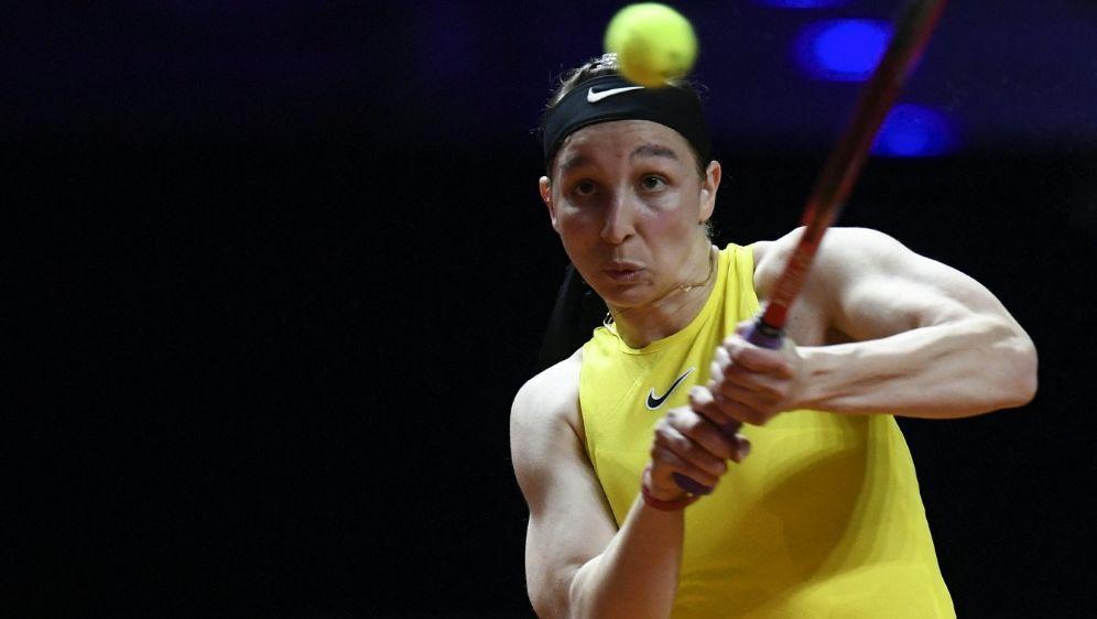 Tamara Korpatsch steht im Viertelfinale von Gdynia - Bildquelle: AFPSIDTHOMAS KIENZLE