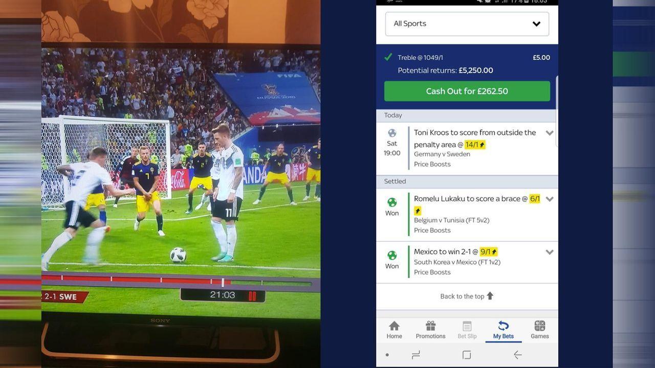 Fan verpasst über 5.000 Pfund - wegen wenigen Zentimetern  - Bildquelle: Twitter/@popbobbins