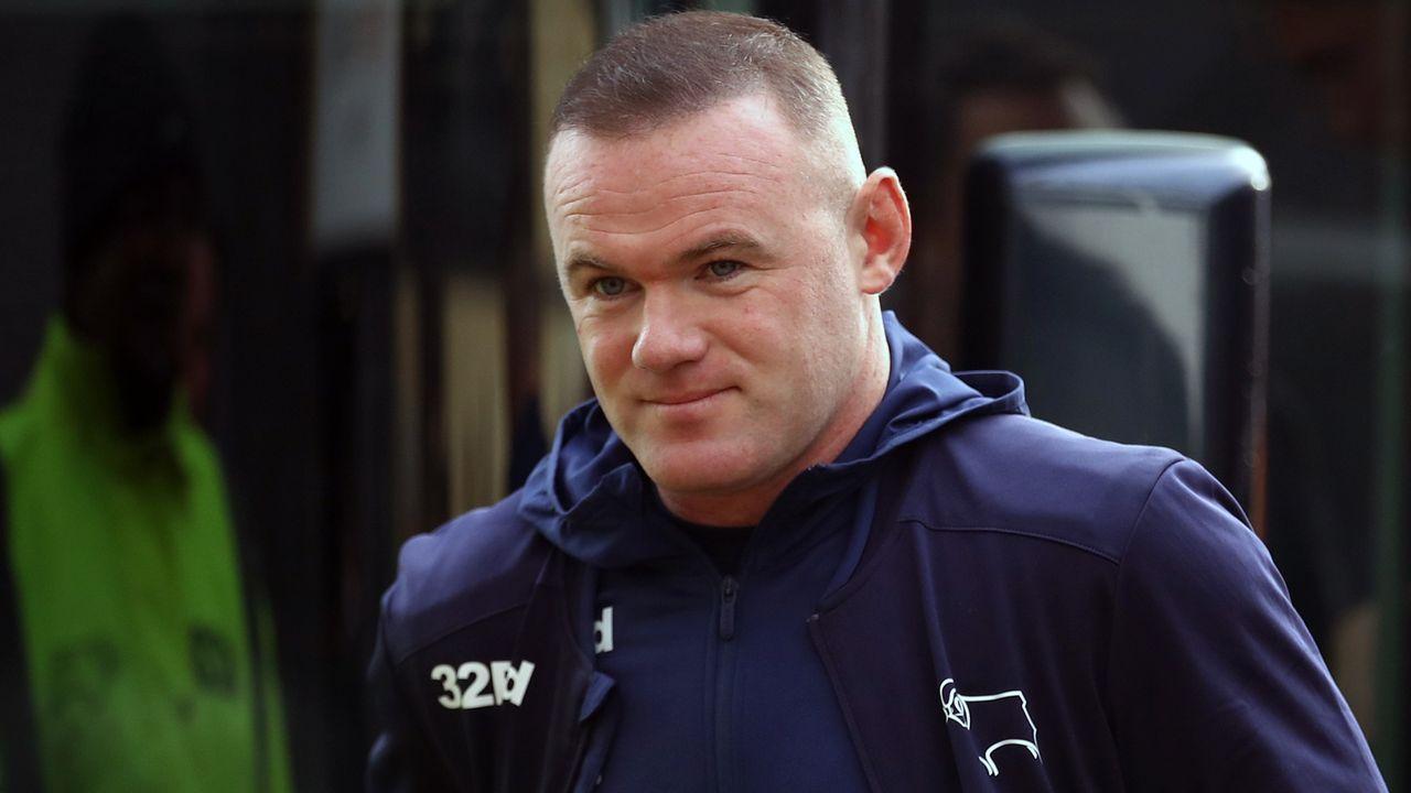 Wayne Rooney (Neuzugang Derby County) - Bildquelle: imago images/PA Images