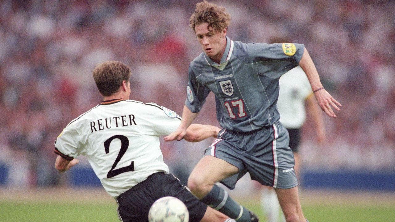 EM 1996: England - Deutschland 1:1 (1:1, 1:1) n.V., 5:6 i.E. - Bildquelle: imago/Horstmüller