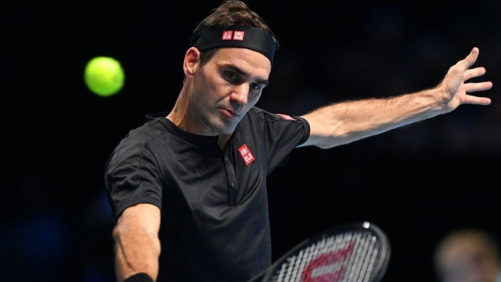 Steht im Halbfinale der ATP-Finals: Roger Federer - Bildquelle: AFPSIDBEN STANSALL