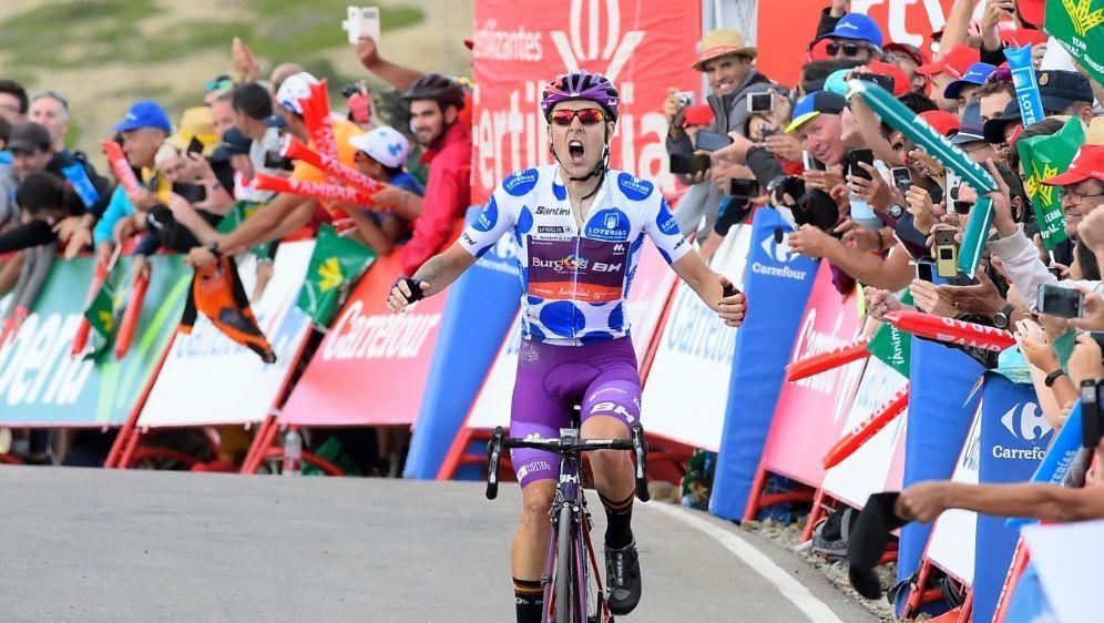 Madrazo gewann die Bergankunft mit 10 Sekunden Vorsprung - Bildquelle: AFPSIDJOSE JORDAN