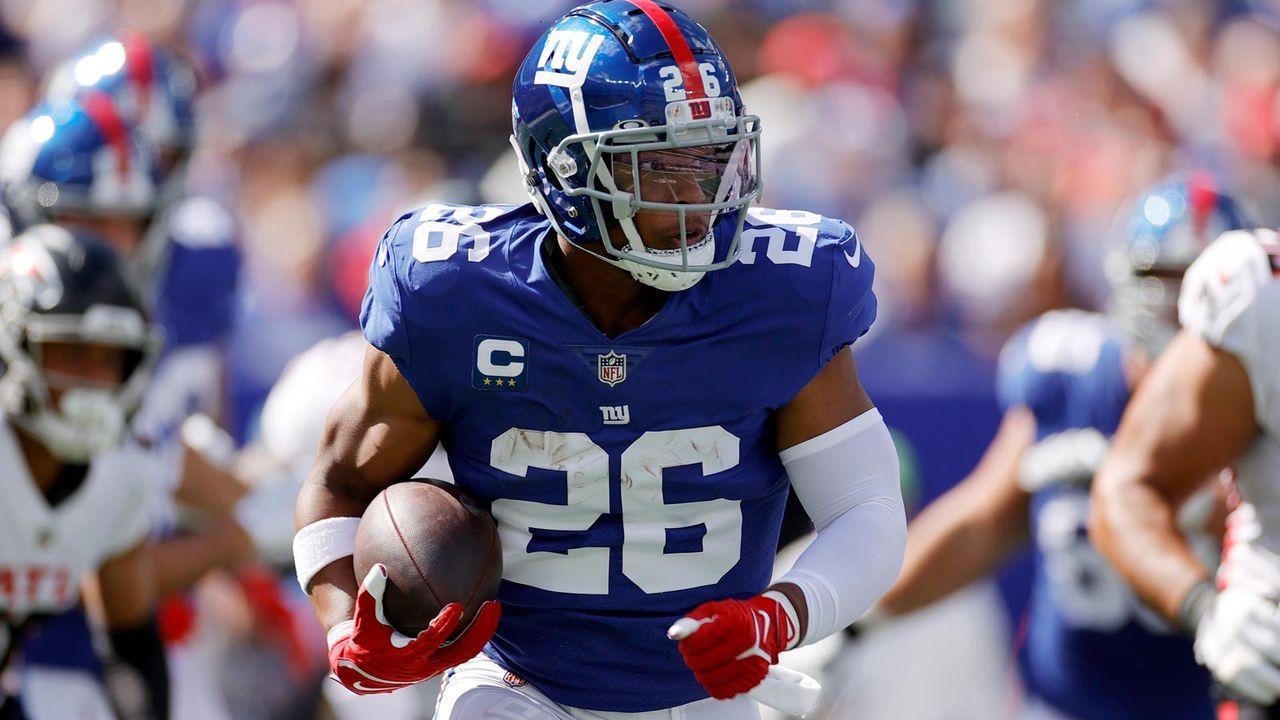 Saquon Barkley (New York Giants) - Bildquelle: 2021 Getty Images