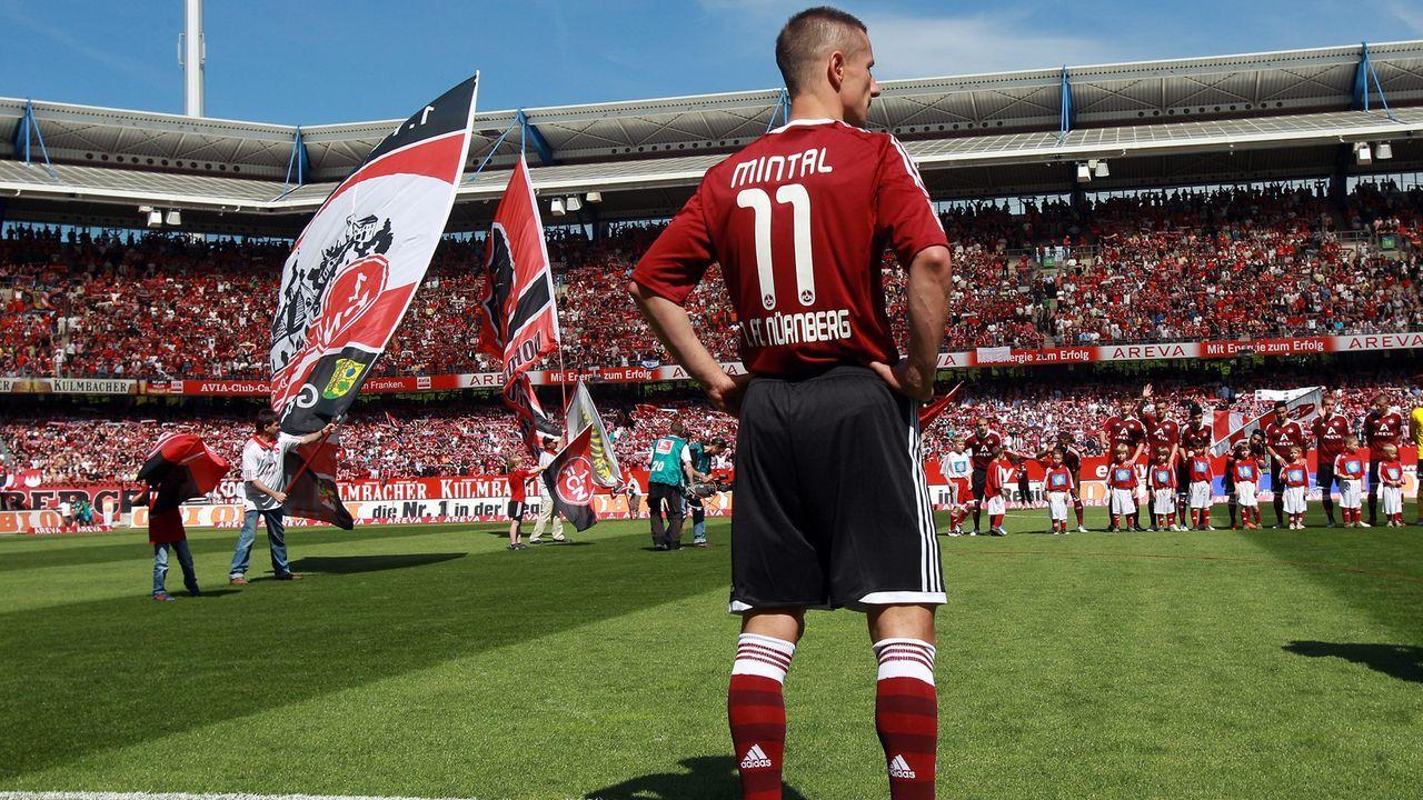 Bank: Marek Mintal (1. FC Nürnberg) - Bildquelle: Getty