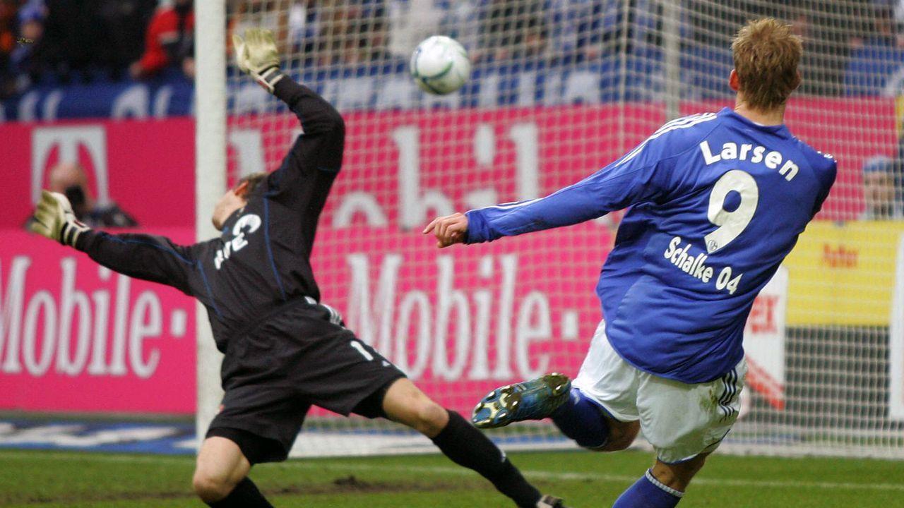 Platz 2 (geteilt): FC Schalke 04 - Bayer Leverkusen 7:4 (11.02.2006) - Bildquelle: Imago