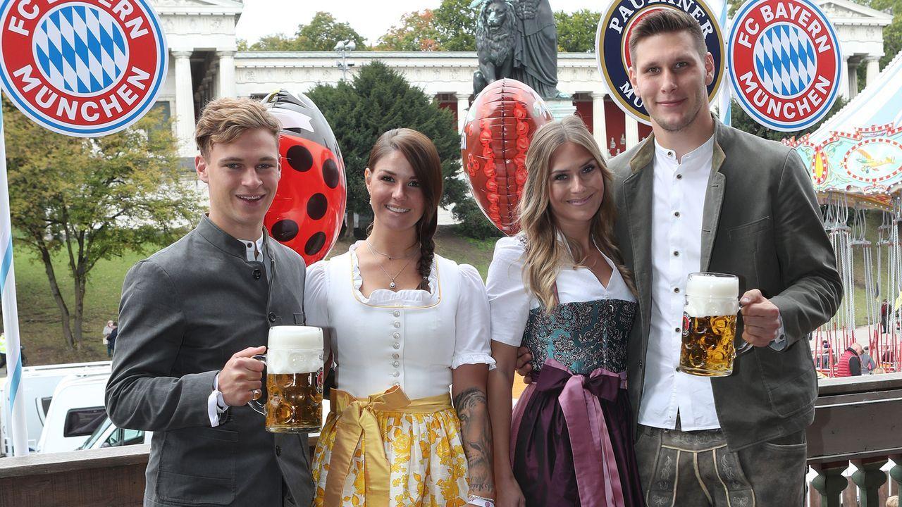 Die Bayern-Stars auf dem Oktoberfest 2019 - Bildquelle: 2019 Getty Images