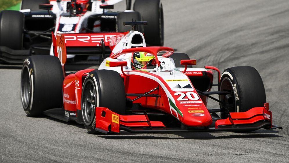 Lange in Führung, am Ende auf Platz sechs: Mick Schumacher - Bildquelle: Motorsport Images