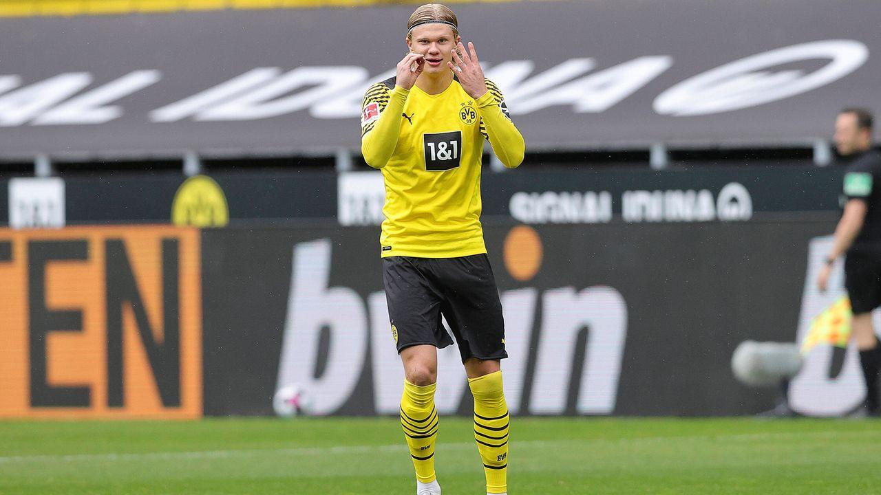 Erling Haaland (Borussia Dortmund) - Bildquelle: SVEN SIMON/Ralf Ibing/firo Sportphoto/pool