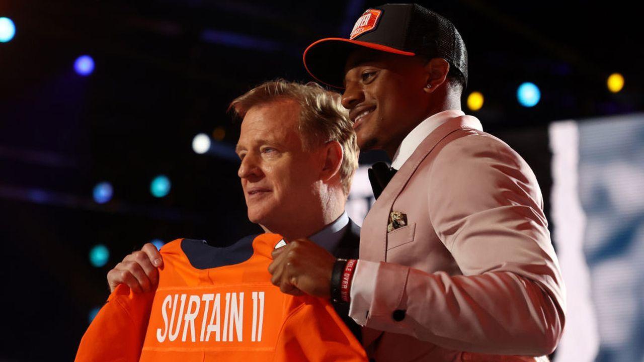 Platz 3: Patrick Surtain II (Cornerback, Denver Broncos)  - Bildquelle: 2021 Getty Images