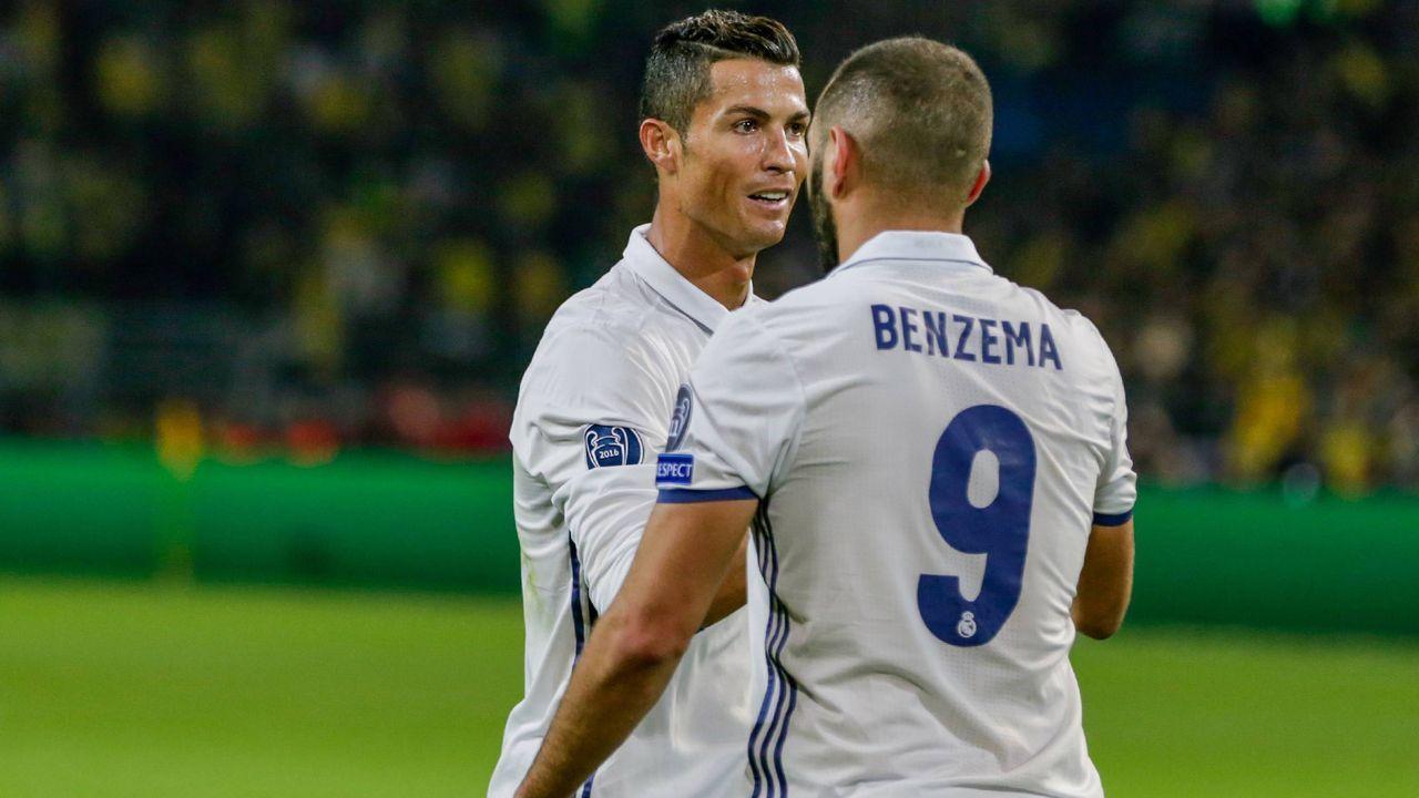 Cristiano Ronaldo und Karim Benzema (Real Madrid, Saison 2015/16) - Bildquelle: imago/Nordphoto