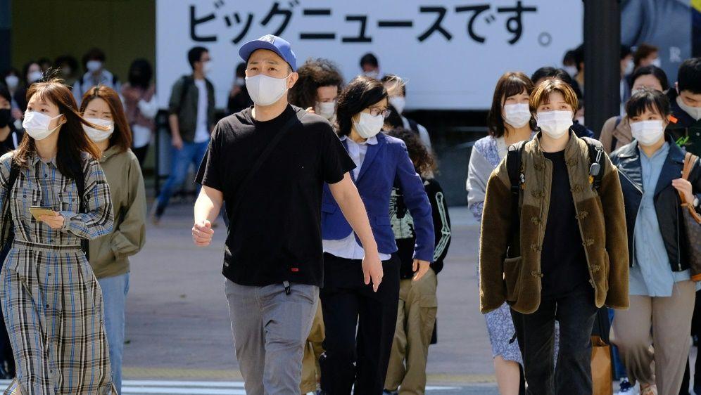 Japan befindet sich weiterhin im Corona-Notstand - Bildquelle: AFPSIDKAZUHIRO NOGI