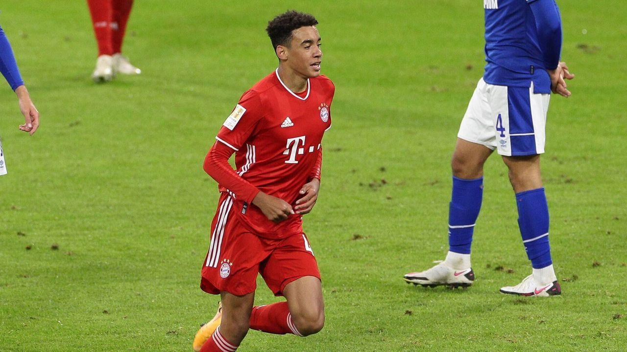 Jamal Musiala jüngster Bundesliga-Torschütze für den FC Bayern München - Bildquelle: imago images/kolbert-press