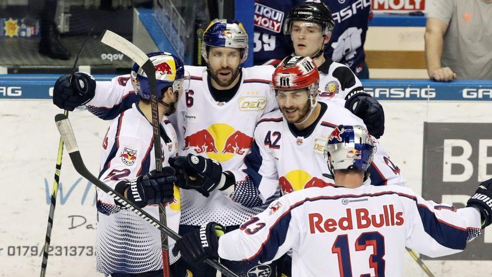 Zum vierten Mal in Folge im DEL-Finale: Red Bull München - Bildquelle: PIXATHLONPIXATHLONSID