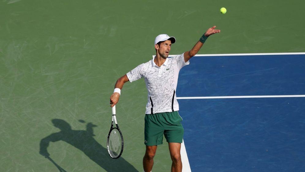 Novak Djokovic schrieb in Cincinnati Tennis-Geschichte - Bildquelle: GETTY IMAGES NORTH AMERICAGETTY IMAGES NORTH AMERICASIDRob Carr