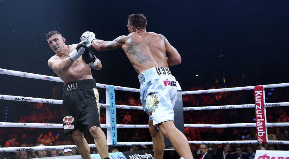 Erste Duftmarke im Kampf um die Ali Trophy - Bildquelle: Getty Images