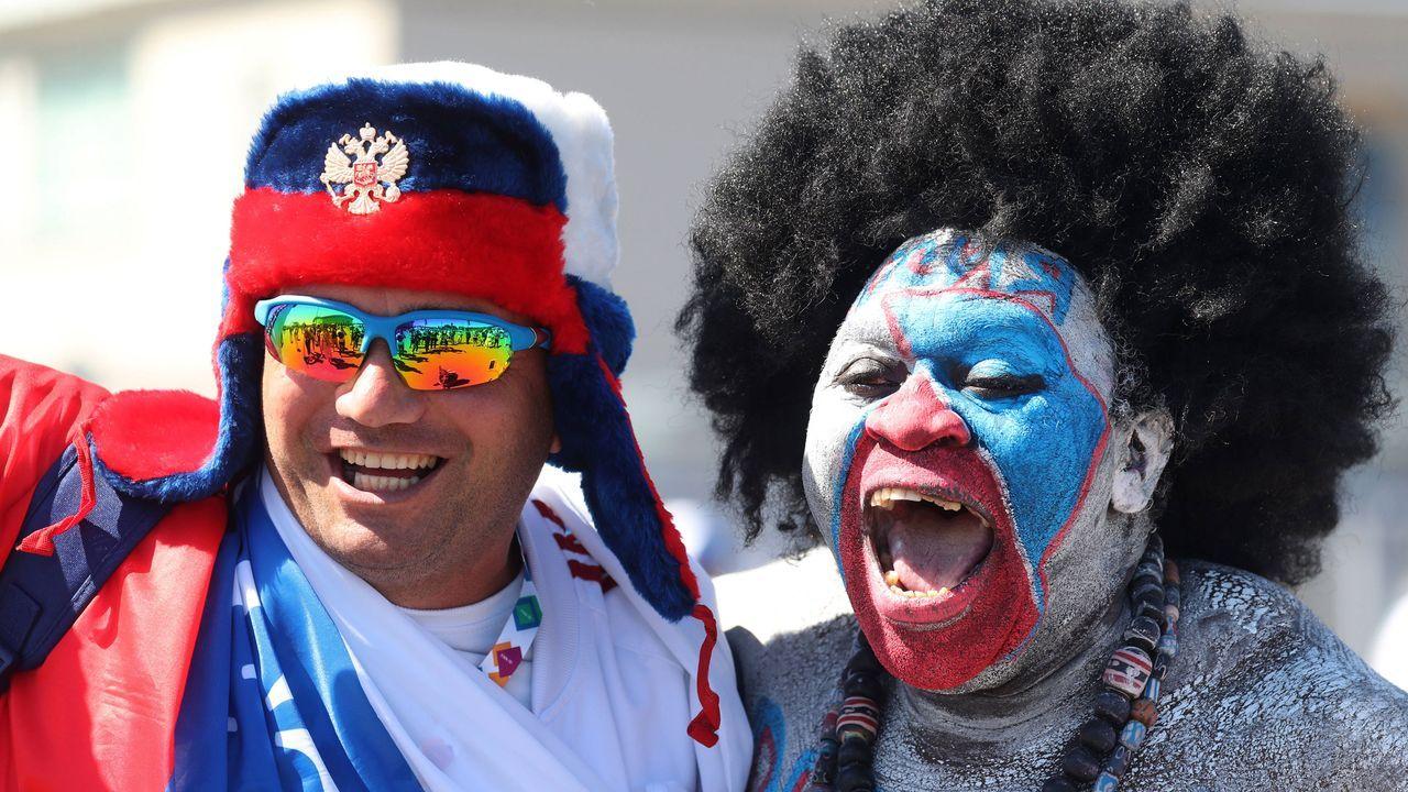 Russische Fans - Bildquelle: imago images/ITAR-TASS
