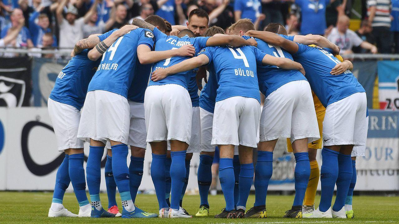 FC Hansa Rostock - Bildquelle: imago images / Eibner